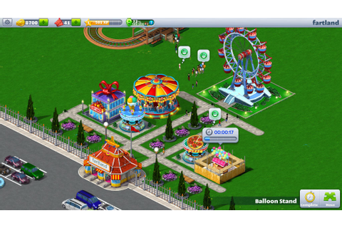Build your dream park with RollerCoaster Tycoon 4 Mobile ...