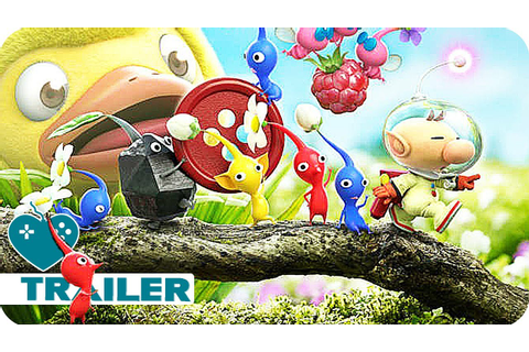 HEY!PIKMIN Demo Trailer (2017) 3DS Game - YouTube