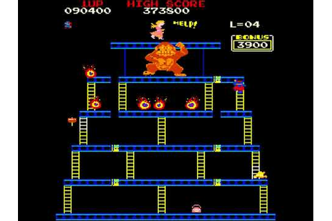 Arcade Game: Crazy Kong (1981 Falcon) High Score! - YouTube