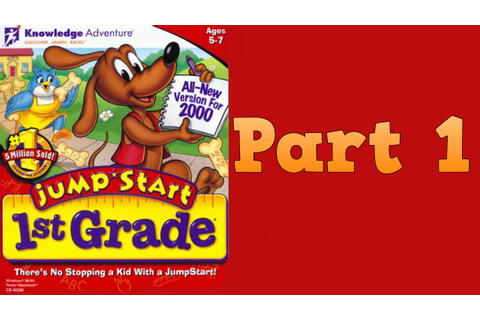 Whoa, I Remember: JumpStart 1st Grade 2000: Part 1 - YouTube