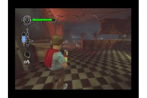 Monster House Movie Game Walkthrough Part 2 (GameCube ...