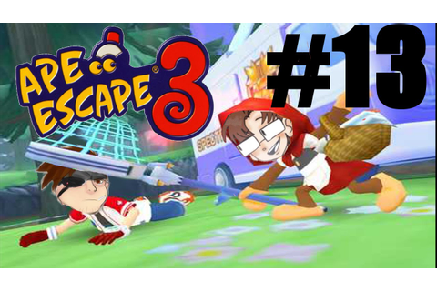 Let's Play Ape Escape 3 - Part 13 - Game Over - YouTube