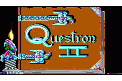 Questron 2 gameplay (PC Game, 1988) - YouTube