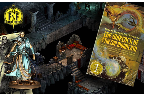 Fighting Fantasy: The Warlock Of Firetop Mountain by Tin ...