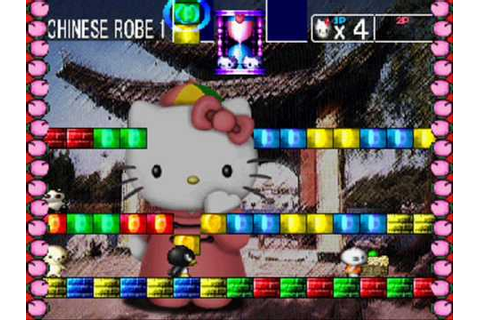 Hello Kitty's Cube Frenzy Game Sample Playstation - YouTube