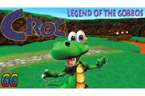 PS1 Croc: Legend of the Gobbos 1997 PLAYTHROUGH (100% ...