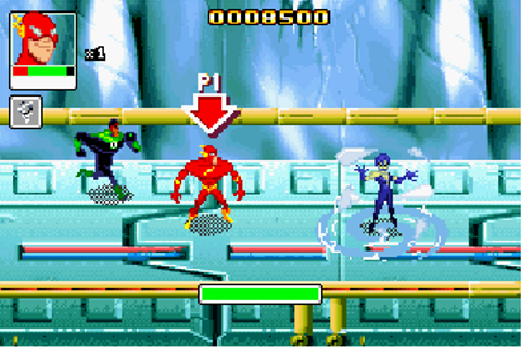 Justice league: Chronicles - Symbian game. Justice league ...