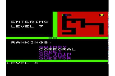 VIC-20 Longplay [001] Ultima: Escape from Mount Drash ...