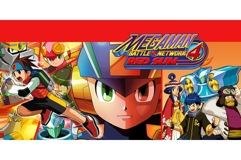 Mega Man Battle Network 4 Red Sun | Game Boy Advance ...