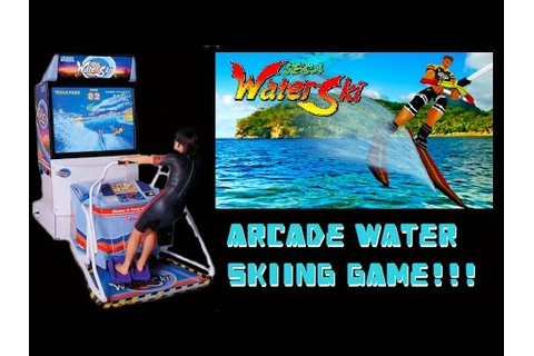 Sega's WATER SKI! Arcade Water Sports Coin Op Game! - YouTube