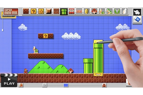 Nintendo Lets You Create Your Own 'Mario World' In ...
