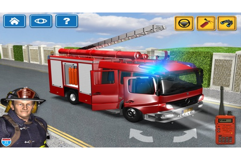 Kids Vehicles 1: Interactive Fire Truck - 3D Games for ...