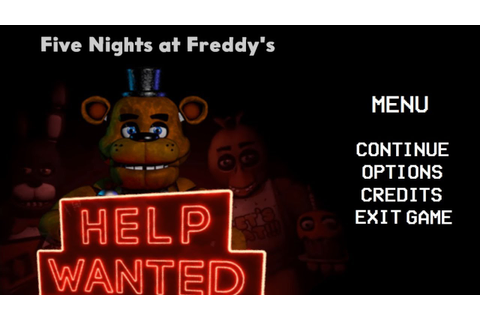 FNAF HELP WANTED 2D - ANDROID PREVIEW (Fã Game) - YouTube