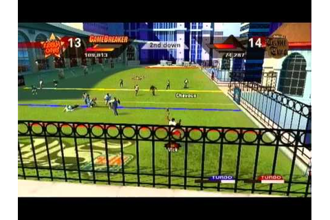 nfl street 2- pick up game - YouTube