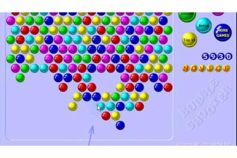 Bubble Shooter Gameplay - YouTube