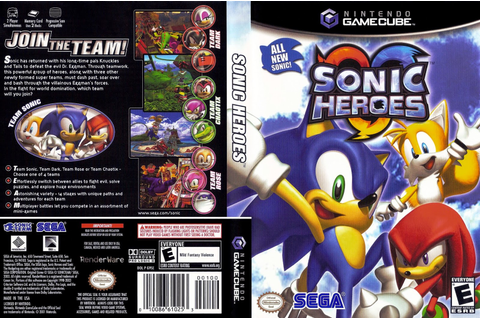 Sonic Heroes For PC Download Full Version Free Games ...