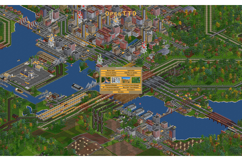 Indie Retro News: OpenTTD 1.5.3 - Open Source Transport ...