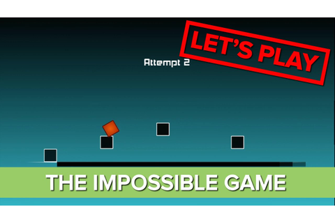 Let's Play: The Impossible Game Gameplay - Xbox Live Indie ...