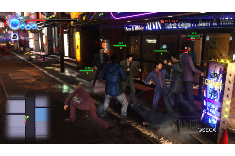 Yakuza 6 demo screenshots | The Escapist
