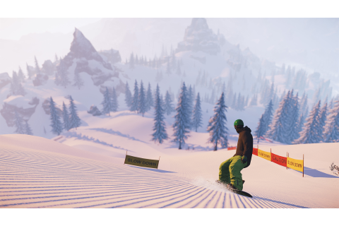 PC skiing game Snow now has snowboarding