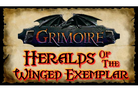 Grimoire : Heralds of the Winged Exemplar Free Download ...