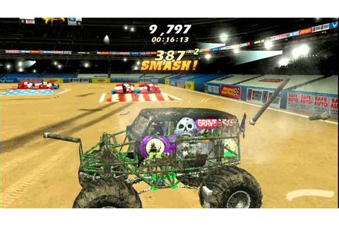 Monster Jam PC Gameplay - YouTube