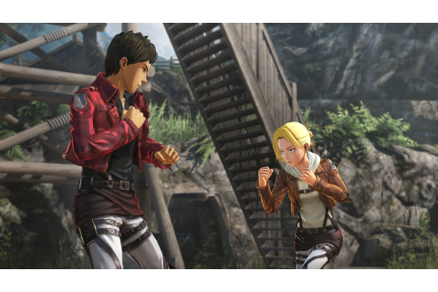 New screenshots for Attack on Titan 2 showcase character ...