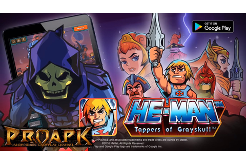 HE-MAN TAPPERS OF GRAYSKULL Gameplay Android / iOS - YouTube