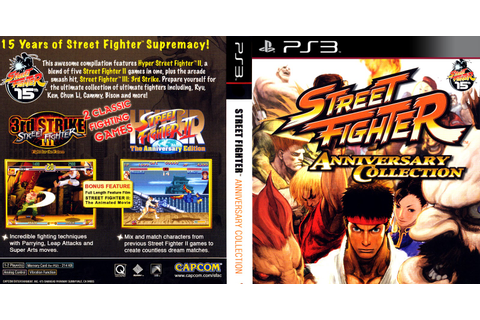 GAMES & GAMERS: STREET FIGHTER ANNIVERSARY COLLECTION PS3 ...