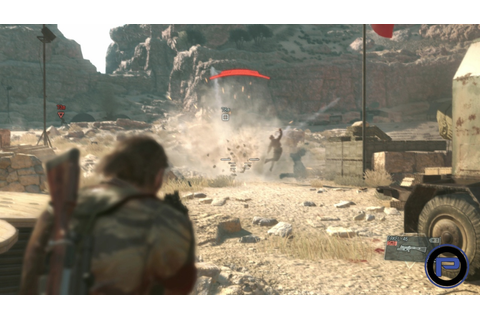 Metal Gear Solid V: The Phantom Pain Gameplay Vid Takes a ...
