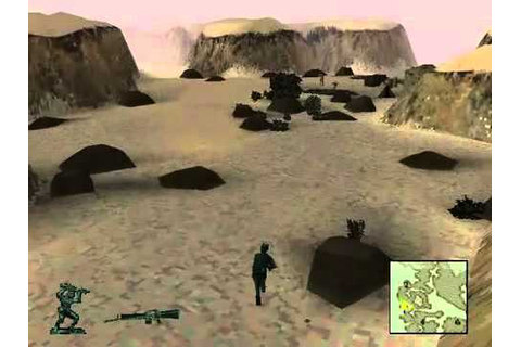 Army Men 3D Level 2 - Playstation PS1 - YouTube