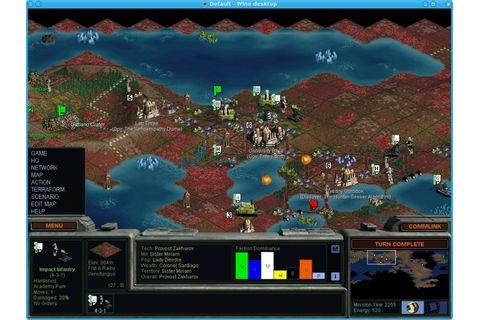 Good Old Games - Sid Meier's Alpha Centauri - PlayOnMac ...