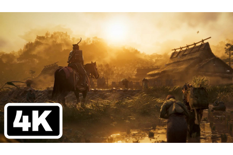 Ghost of Tsushima Announcement Trailer (4K) - Paris Games ...