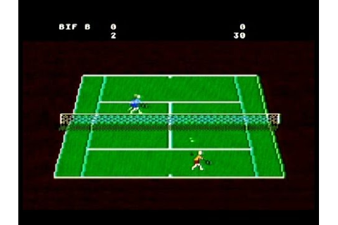 Atari 5200: RealSports Tennis [Atari] - YouTube