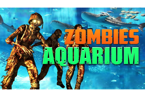 ZOMBIE AQUARIUM ★ Call of Duty Zombies (Zombie Games ...