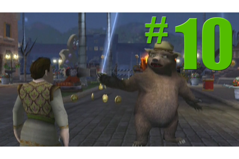 Shrek 2: Game Walkthrough Part 10 - Cookie, Cookie - No ...