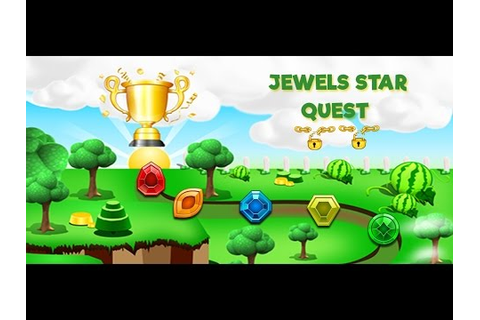 [Game Free ] Jewels Star Quest - JumpAlpha - YouTube
