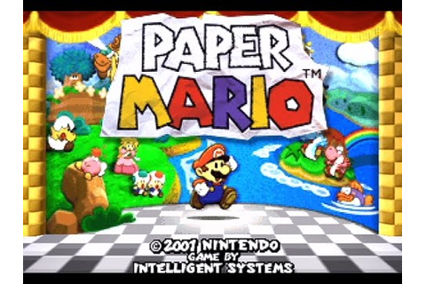Full Game Paper Mario 64 HD - YouTube