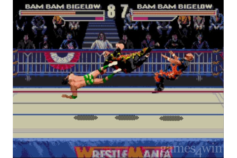 WWF Wrestlemania Arcade Game Download