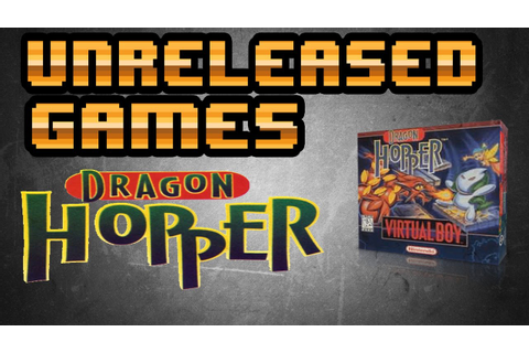 Unreleased Games | Dragon Hopper [Virtual Boy] - YouTube