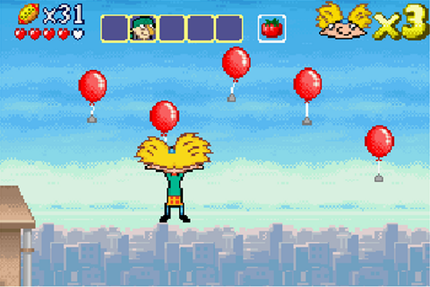 Hey Arnold! The Movie - Symbian game. Hey Arnold! The ...