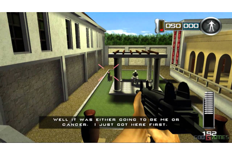 Die Hard: Vendetta - Gameplay PS2 HD 720P - YouTube