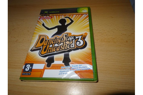 Xbox Dancing Stage Unleashed 3 Dance Mat Compatible Game ...
