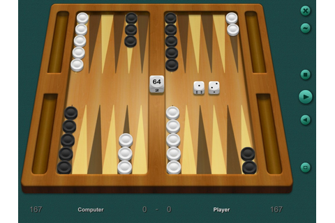 Backgammon 3D board