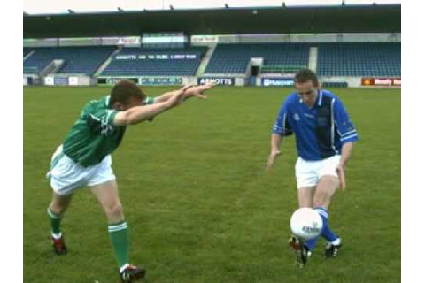 learn how to play Gaelic Games - The Football dummy - YouTube