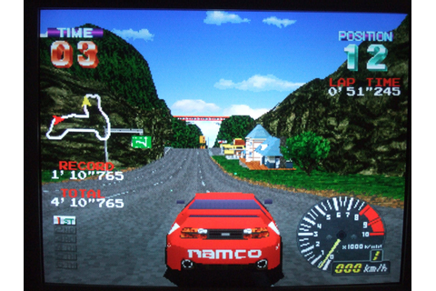 Ridge Racer Revolution PSX PS1 Game Screenshot - bullsh!ft ...
