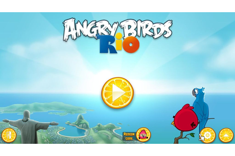 The Center Download Game: Angry Birds Rio Game