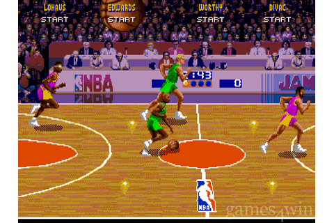 NBA Jam Download on Games4Win