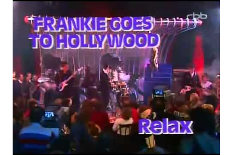 Frankie Goes To Hollywood Relax Live Musikladen 1984 - YouTube