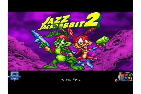 Jazz Jackrabbit 2 gameplay (PC Game, 1998) - YouTube